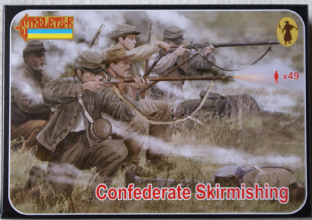 Strelets 1/72 ST0158 Confederates Skirmishing (ACW)
